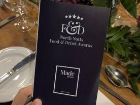 Made North Notts Food & Drink Awards Winner 2019